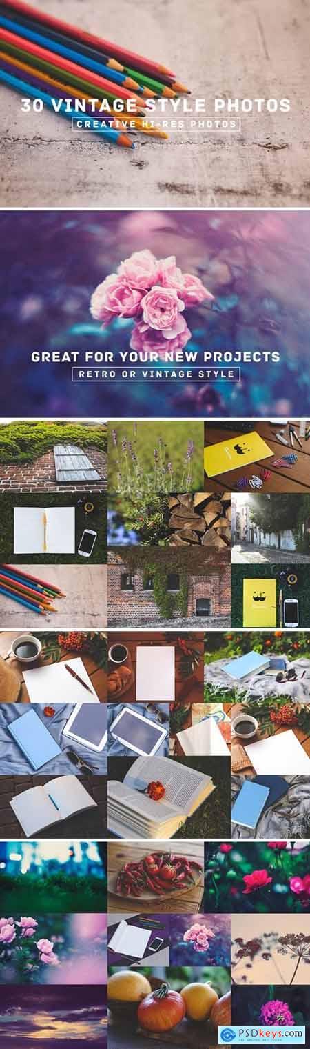30 Vintage Style Photos v.3 90513