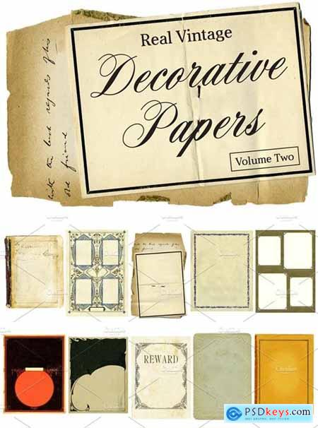 Real Vintage Decorative Papers Vol 2 4691