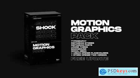 Videohive Shock Motion Graphics Pack V1.4 24181222