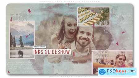 Videohive Perfect Inks Memories Slideshow 23051154