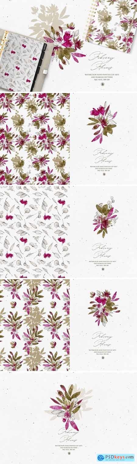 February Flowers 4570110