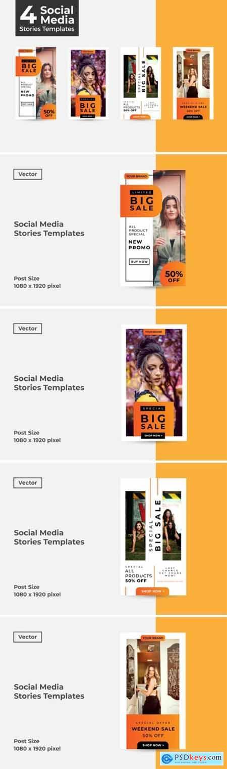 Social Media Stories Templates 2925354
