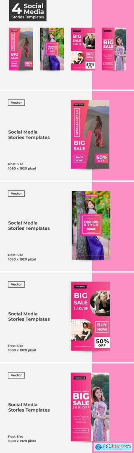 Social Media Stories Templates 2925375