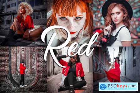 10 Lightroom Presets - Red 3814161