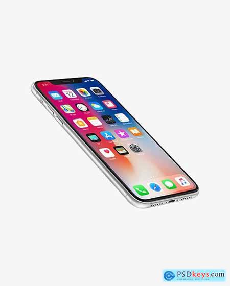 White Apple iPhone XR Mockup 55750