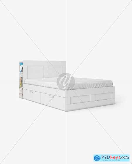Double Bed Mockup 55751