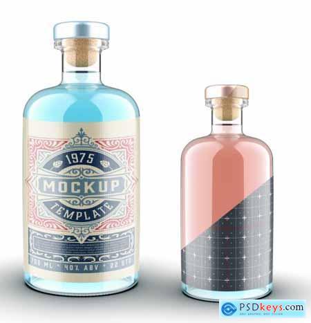 Bottle Packaging Mockup 322842486