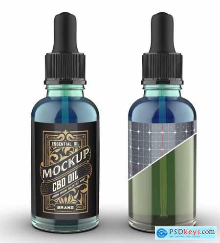 Dropper Bottle Mockup 322842496