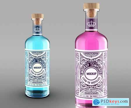 Bottle Packaging Mockup 322843320