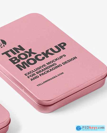 Two Tin Boxes Mockup 55752