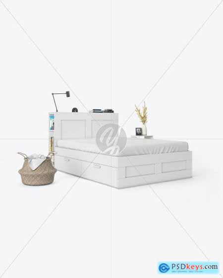 Bedroom Interior Mockup 55745