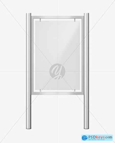 Advertising Board Mockup - Front View 55722