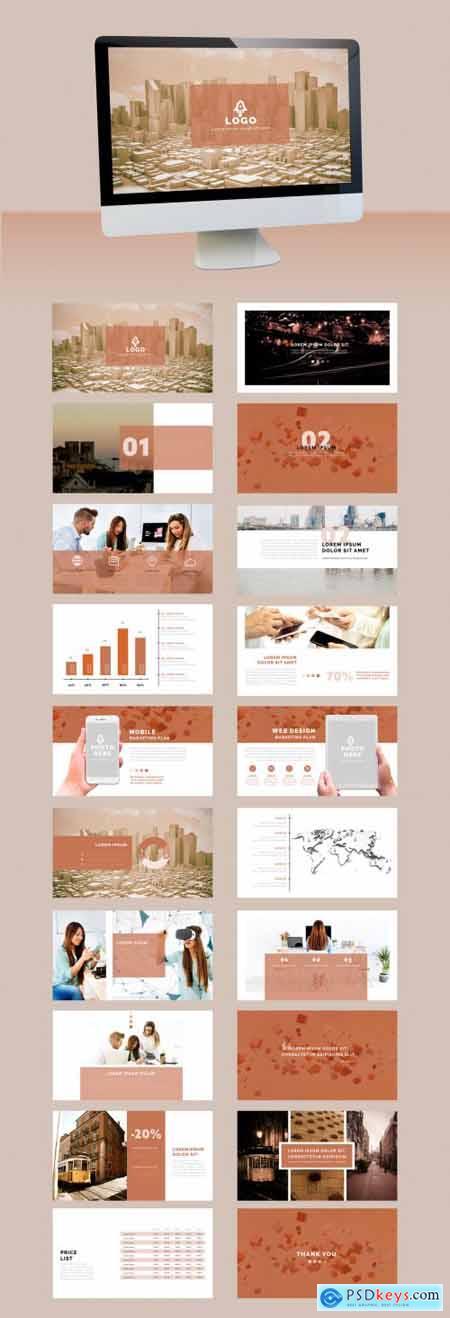 Neutral Style Minimal Multipurpose Presentation 323043848