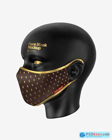 Face Mask Mockup 55747