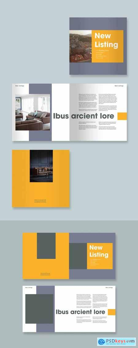 Orange and Gray Brochure Layout 323052272
