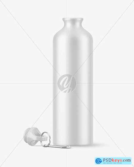 Matte Opened Aluminum Water Bottle 55613