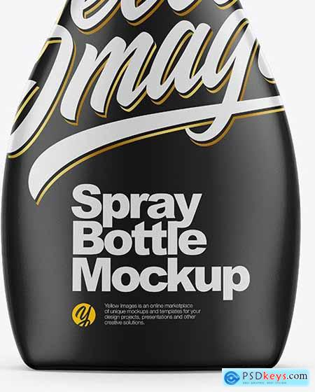 Matte Spray Bottle Mockup 55853