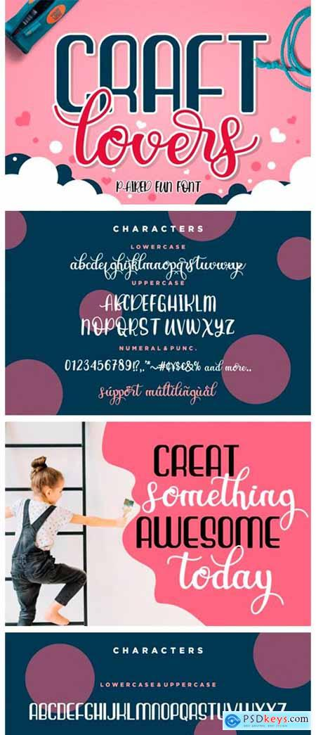 Craft Lovers Font