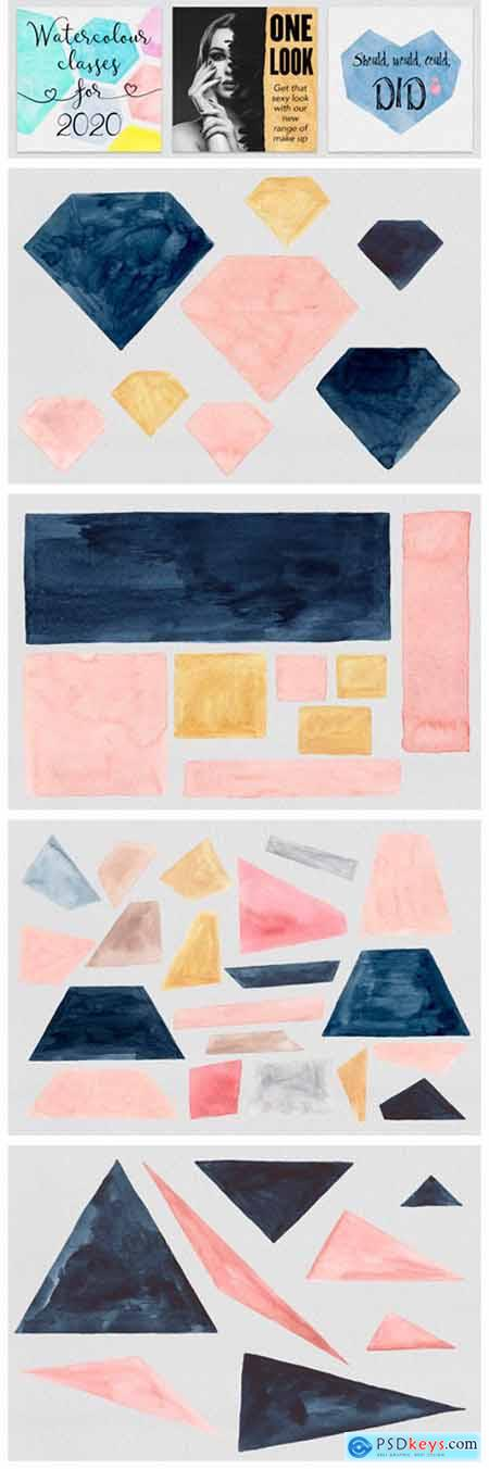 Geometric Watercolors 2878750