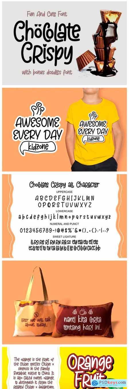 Chocolate Crispy Font