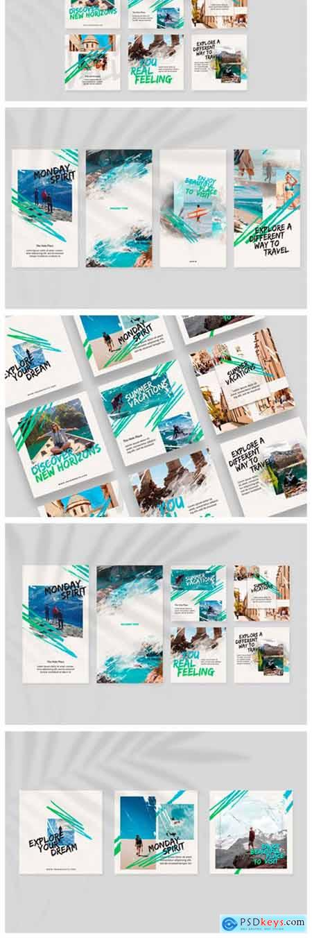 Travel Time Instagram Templates 2894579