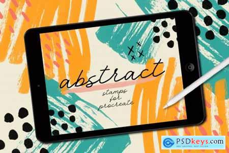 ABSTRACT STAMPS FOR PROCREATE 3745653