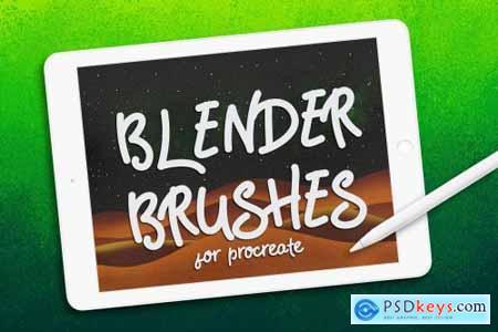 BLENDER BRUSHES FOR PROCREATE 3579351