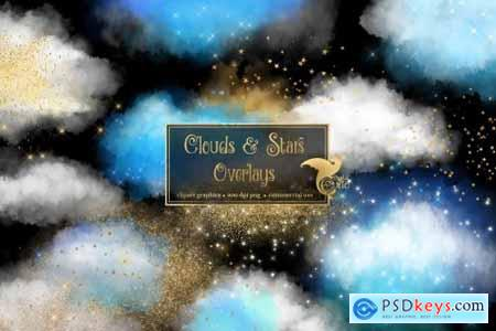 Clouds & Stars Overlays 4579517