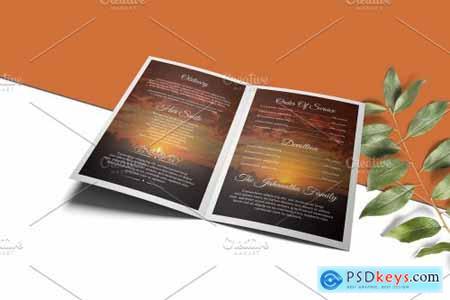 Funeral Program Template - V931 4230875