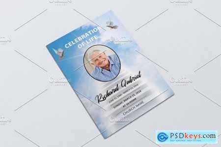 Funeral Program Template - V929 4229198