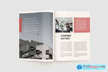 Red Corporate Brochure 4588386