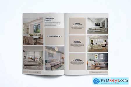 Interior Lookbook Template