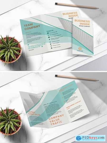 Business Tri Fold Brochure Vol.04