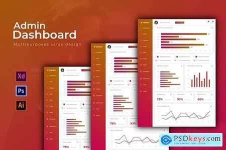 Adminvi Dashboard - Admin Template