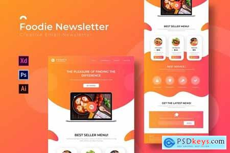 Foodie - Newsletter Template