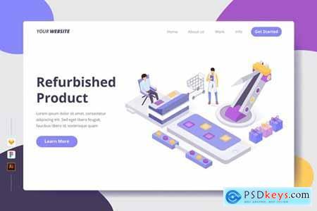 Refurbished Product - Landing Page