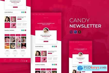 Candy - Newsletter Template
