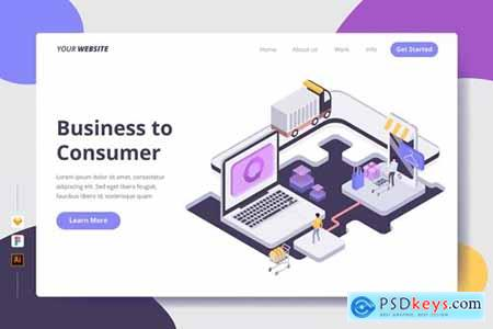 Business to Consumer - Landing Page