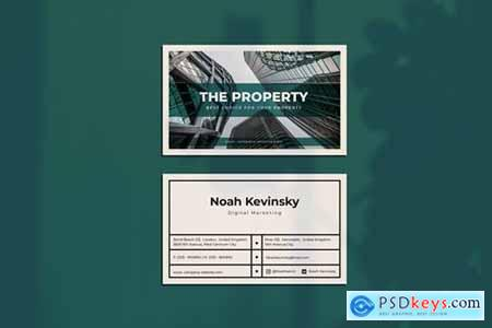 The Property Business Card