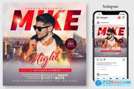 Classy Night Club Party Flyer 4190035