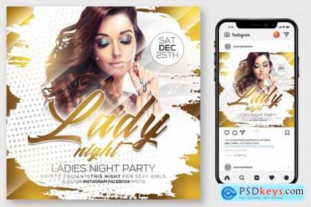 Ladies Night Flyer 4176024
