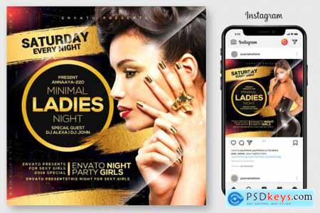 Ladies Night Flyer 4176042