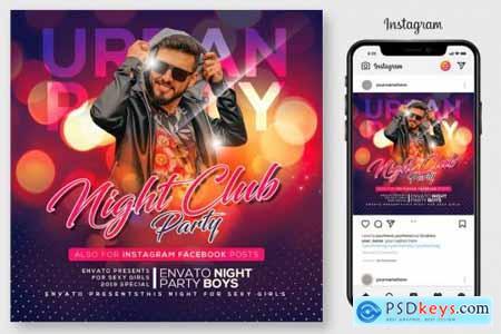 Night Club Party Flyer 4190025