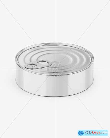 Metallic Can W- Glossy Label Mockup 55912