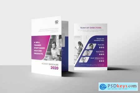 A5 Tri-fold Multipurpose Brochure