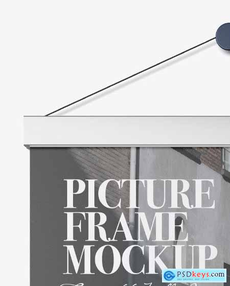 Metallic Picture Frame Mockup 55866
