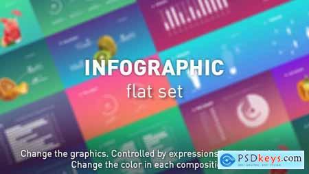 Infographic flat set 21490010