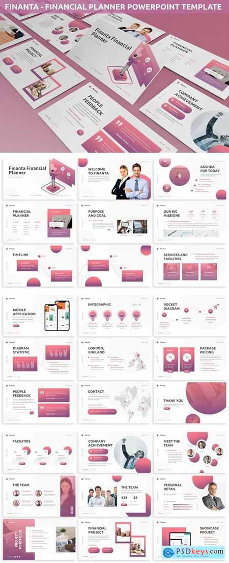 Finanta - Financial Planner Powerpoint Template