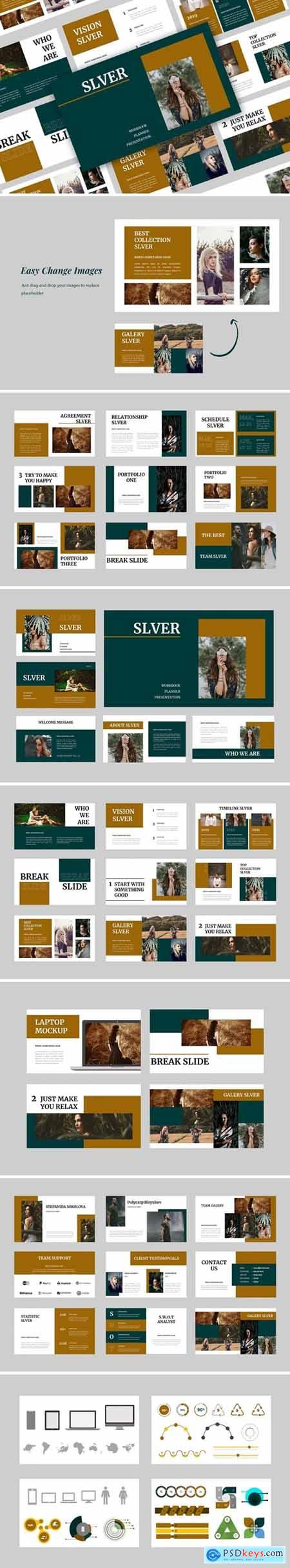 Slever Powerpoint, Keynote and Google Slides Templates