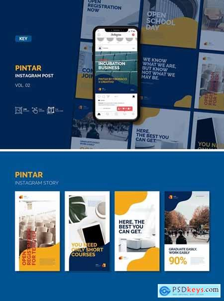 Pintar - Instagram Feed and Keynote